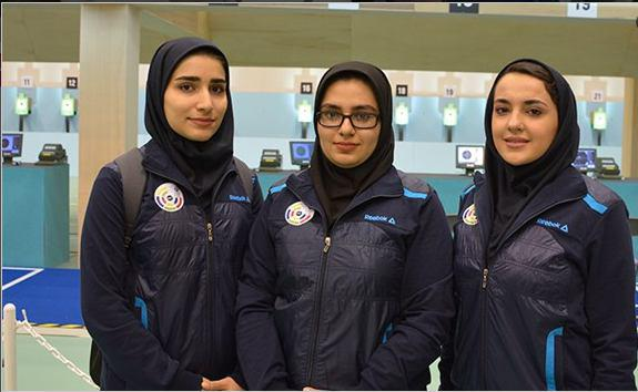 دختران ایران قهرمان سلاحهای بادی آسیا شدند