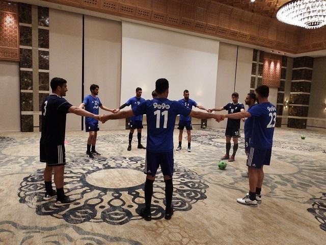 تمرین  تیم ملی با حضور ستاره های اروپایی