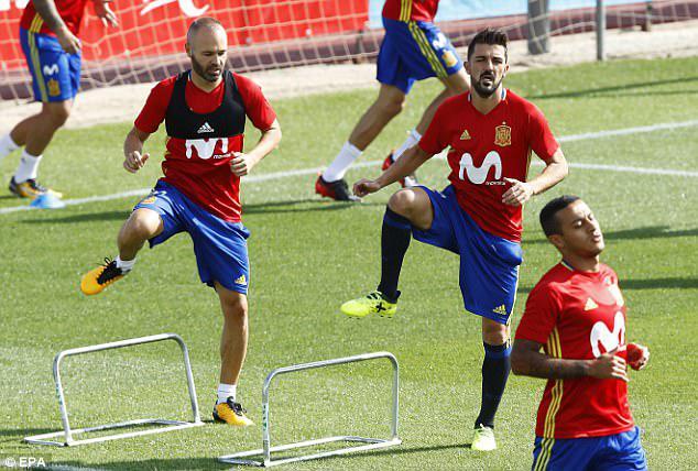 کیوسک| اشتیاق ویا برای بازی در تیم ملی