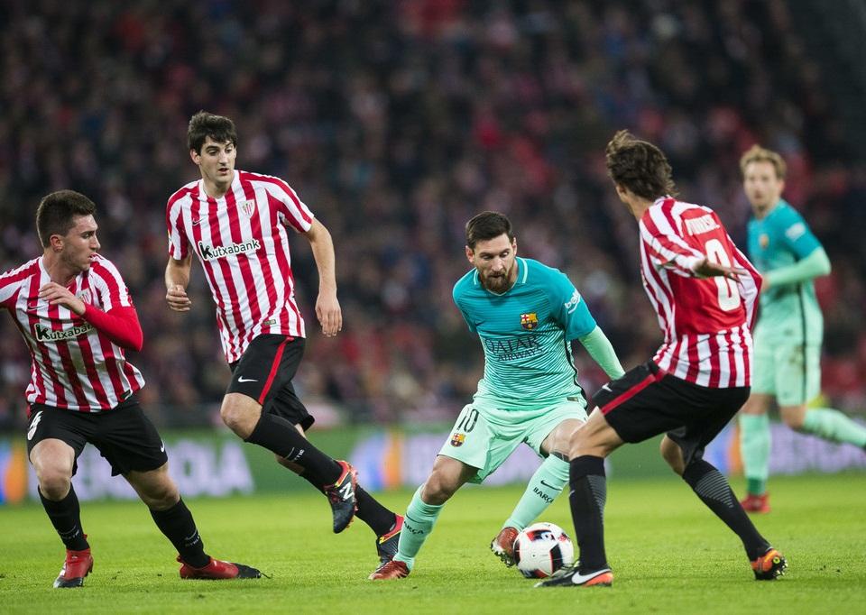 بارسلونا در اولین دیدار سال جدید شکست خورد
