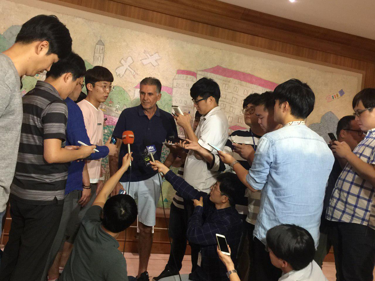 حرفهای جالب خبرنگاران کرهای درباره کیروش