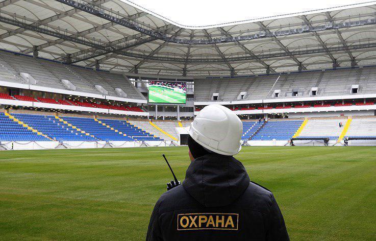 اعلام تعداد نیروهای امنیتی جام جهانی ۲۰۱۸ روسیه