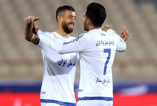 قهرمان ایران با سه مهاجم مقابل الفتح