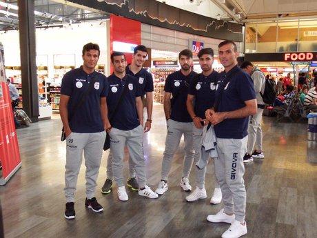 تیم ملی به تونس رسید