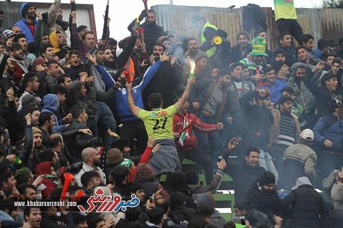 لیگ یک  پیروزی ملوان در دربی شمال