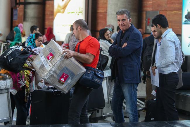 Carlos Queiroz returned to Lisbon