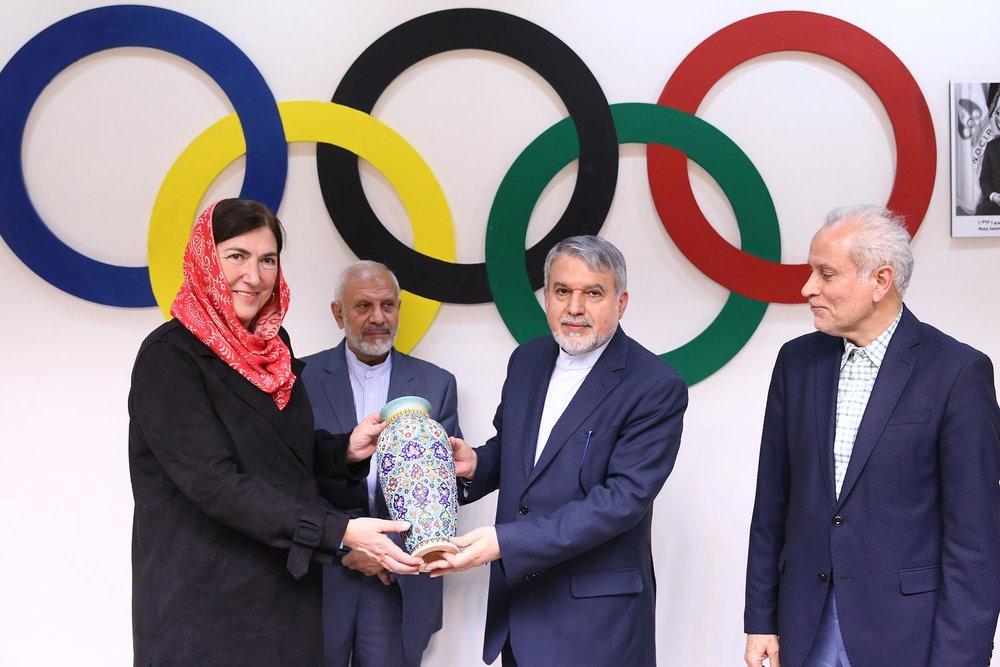 کاسادو: به ایران آمدم تا درهای بیشتری بر روی سهگانه باز شود