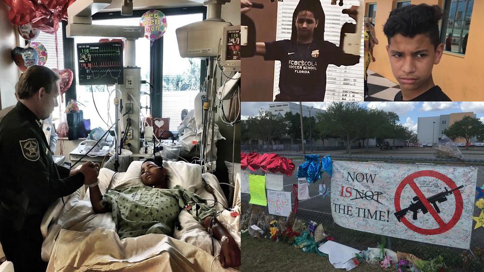 عکس| هدیه بارسلونا برای قهرمان حادثه فلوریدا