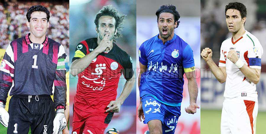 گزارش ویژه   تمام بازوبند های جنجالی کاپیتانی در فوتبال ایران