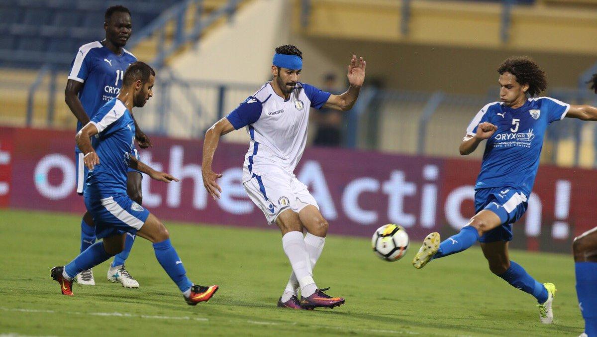شکست پرگل تیم رفیعی/تساوی قطر با گل طیبی