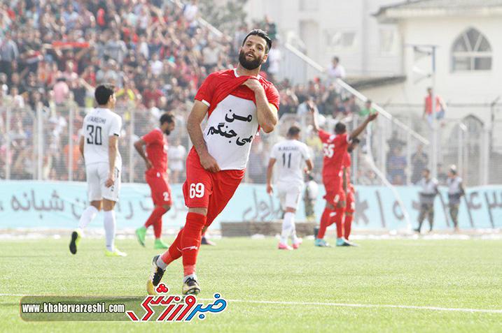 گزارش تصویری| نساجی مازندران 4 - 1 بادران تهران (لیگ دسته اول)