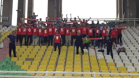 عکس   هواداران خونه به خونه در اهواز