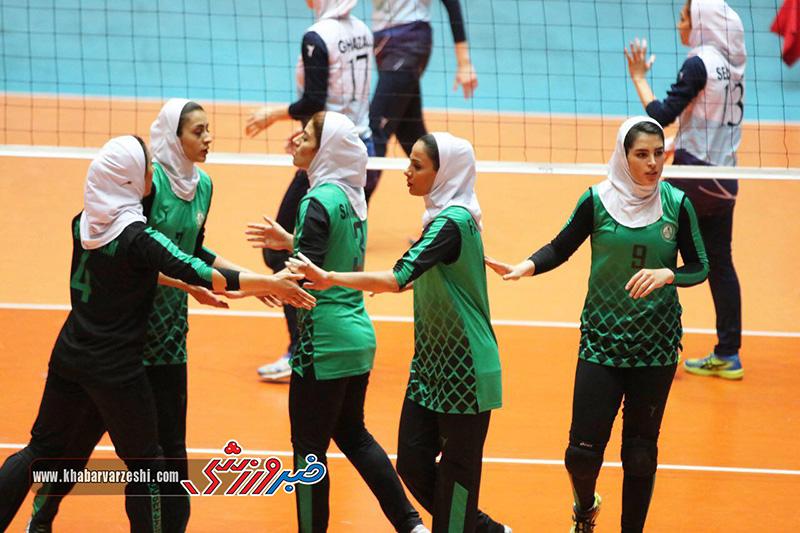 گزارش تصویری| سالوت – ذوب آهن اصفهان (لیگ برتر والیبال بانوان)