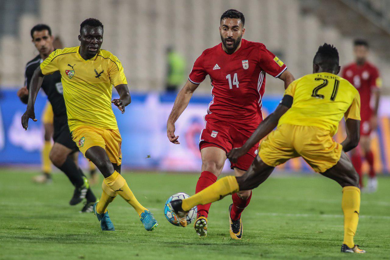 ایران دو  - توگو صفر / تیم تازه کی روش هم پیروزی طلب است