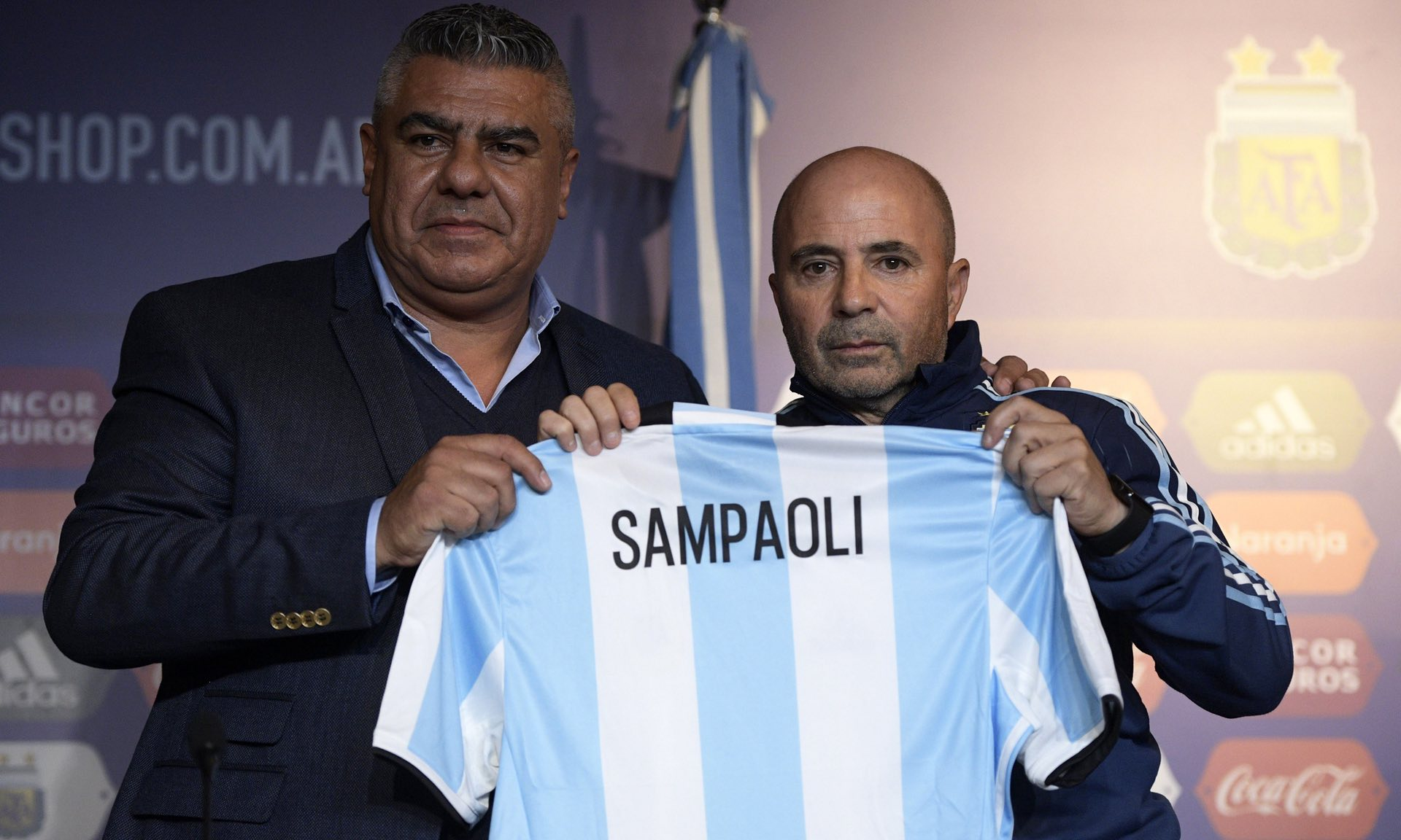 عکس| مربی جدید آرژانتین معرفی شد