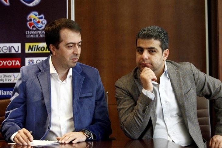 برگزاری جلسه مدیران پرسپولیس با مسئول AFC