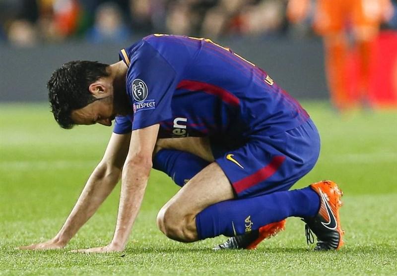 هافبک بارسلونا سه هفته درو از میادین