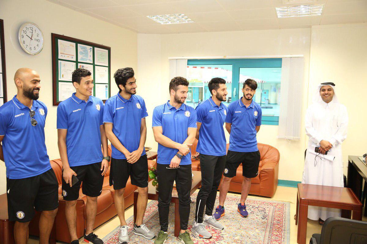 سروش در مدارس فوتبال دوحه
