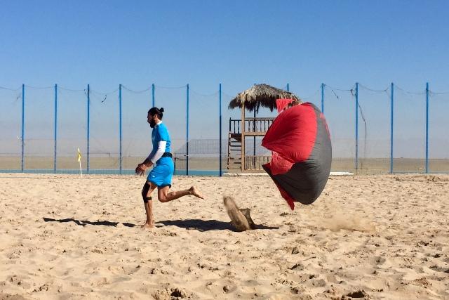 گزارش تصویری| تمرین تیم ملی فوتبال ساحلی
