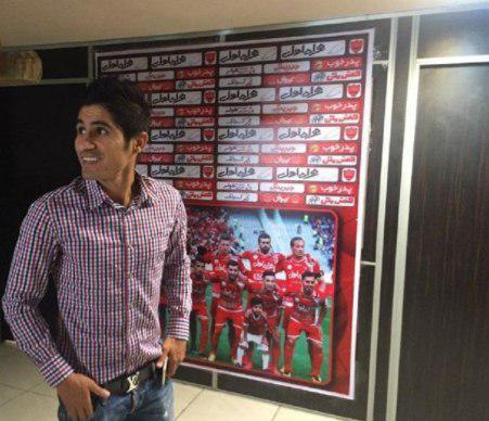 آرام طبع بی تکلیف ترین فوتبالیست ایران
