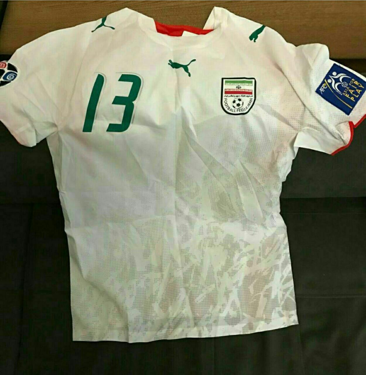 فروش خیریه پیراهن ملیپوش جامجهانی ۲۰۰۶