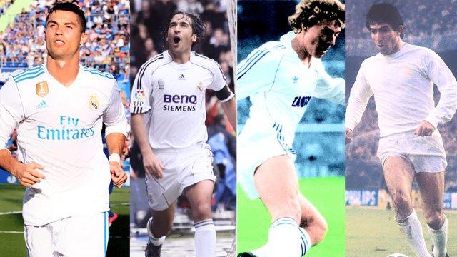 سرگذشت شماره هفتهای بزرگ رئال مادرید