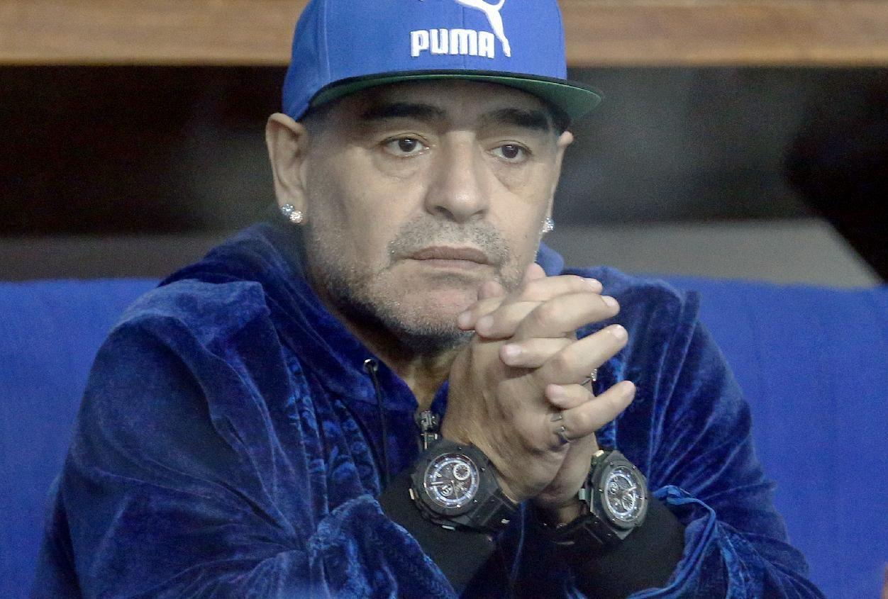 مارادونا: دیگر مواد مصرف نمیکنم