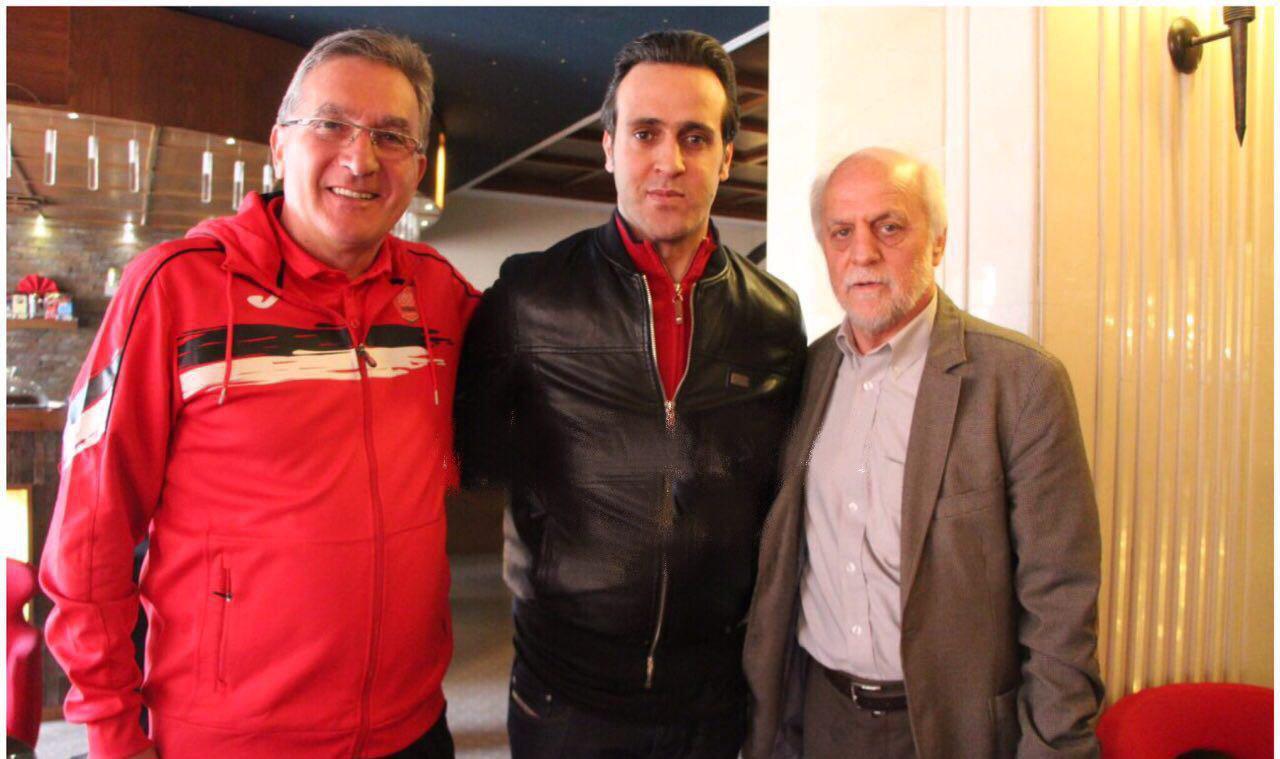 علی کریمی به پرسپولیس پاسخ مثبت داد