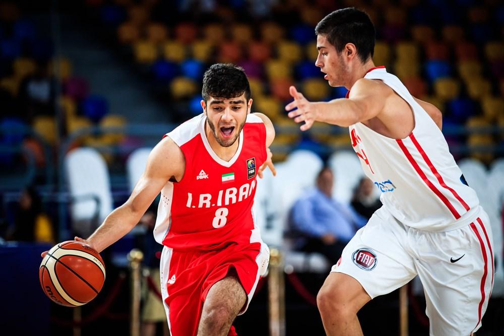 گزارش تصويري  دیدار بسکتبال جوانان ایران - اسپانیا