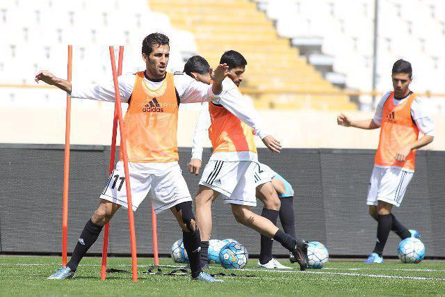 گزارش تصویری| تمرین تیم ملی فوتبال