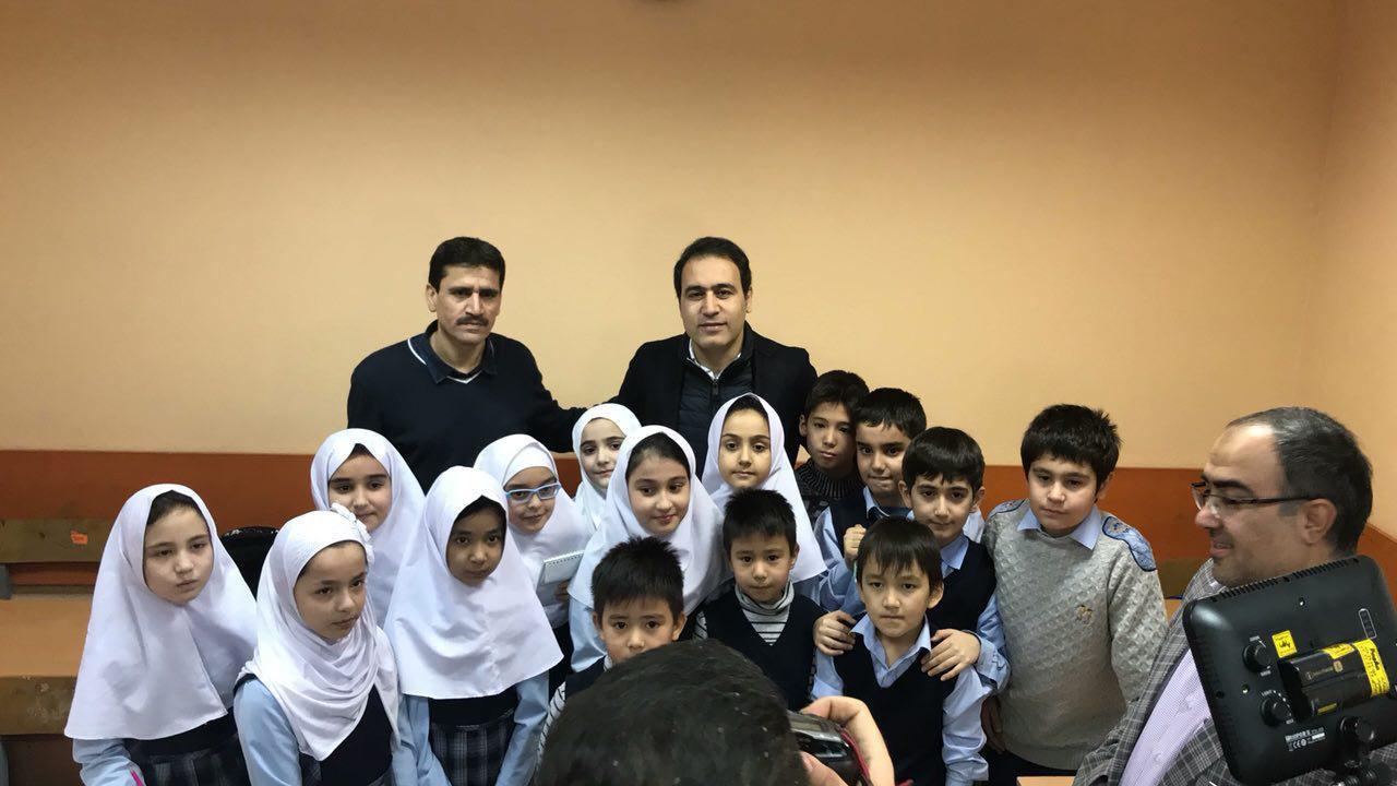 مهدوی کیا: فرصتی دست داد ایرانی ها را ببینم