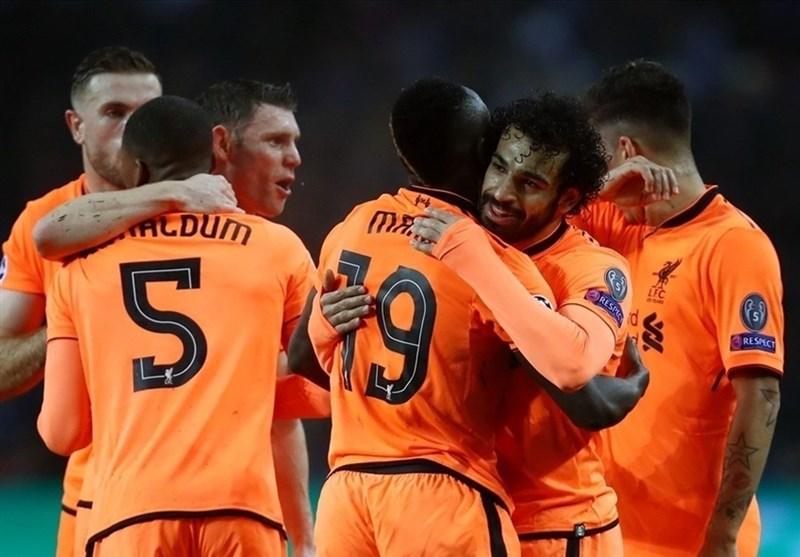 لیگ قهرمانان اروپا| جشنواره گل پرتغالی لیورپول