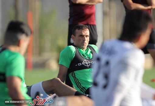 حسینی: وظیفه بازیکنان تمرین کردن است نه چیز دیگر