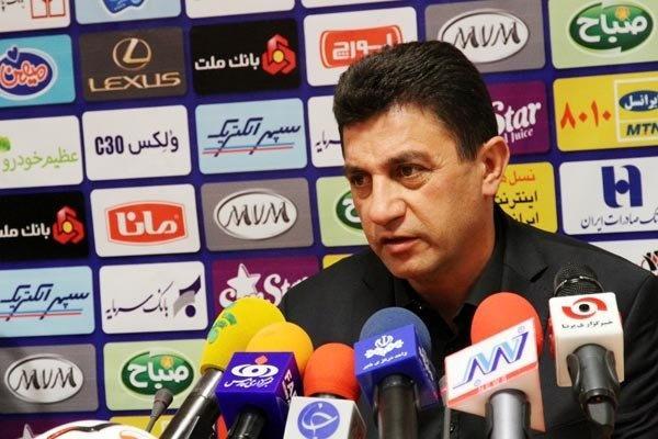 قلعهنویی: عدالت در بازی ما مقابل فولاد خوزستان رعایت نشد