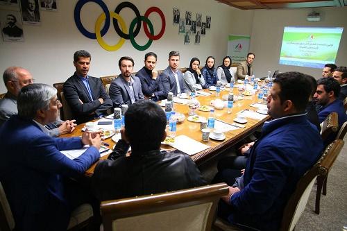 جلسه کمیسیون ورزشکاران با نامزدهای کمیته المپیک