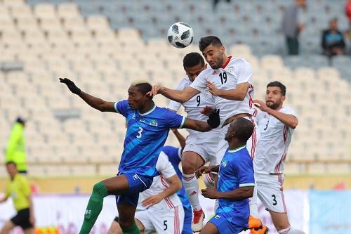 پایان نیمه اول / ایران 3 – سیرالئون 0