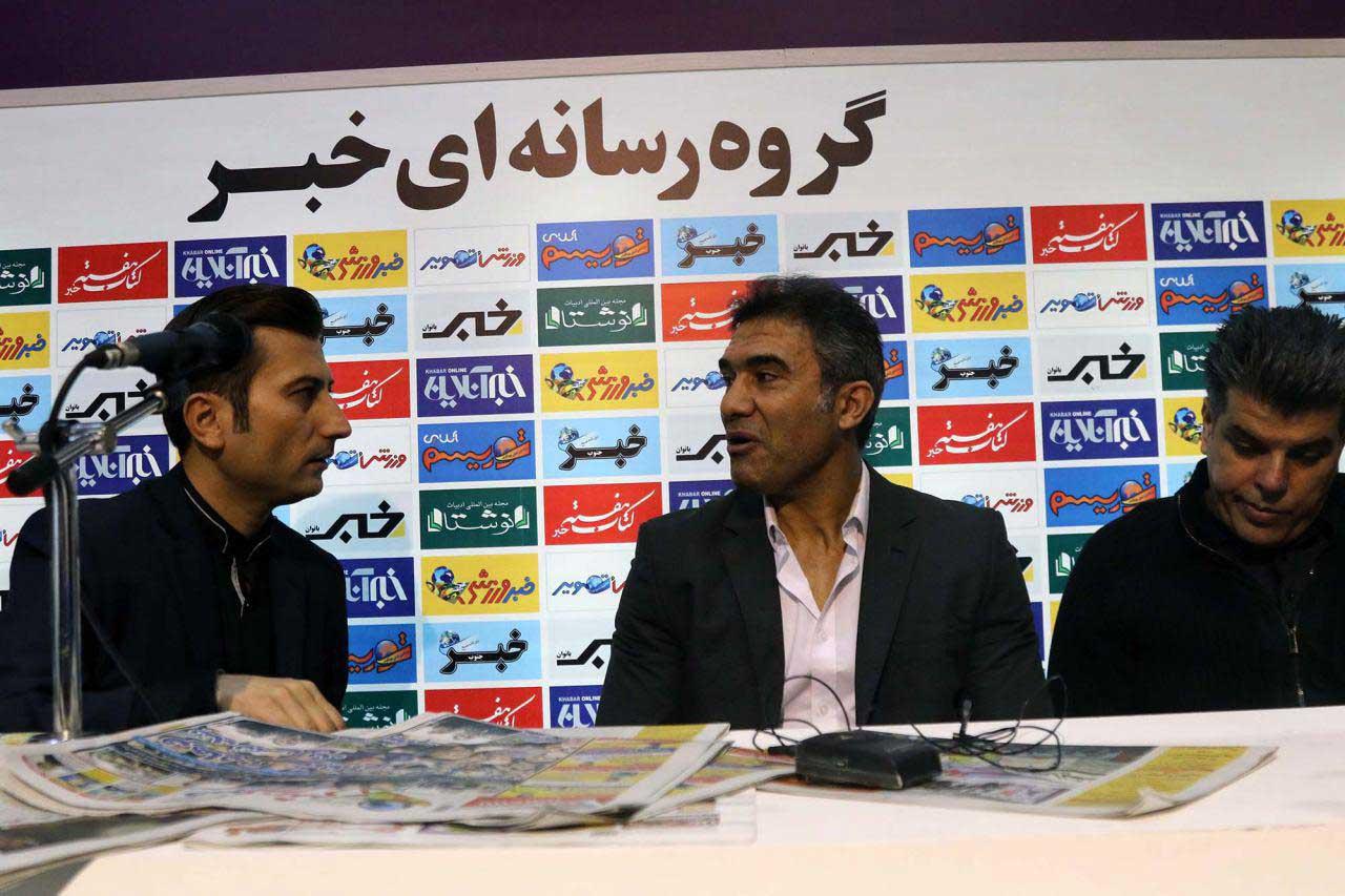 گزارش تصویری  عابدزاده سایت جدید خبر ورزشی را افتتاح کرد