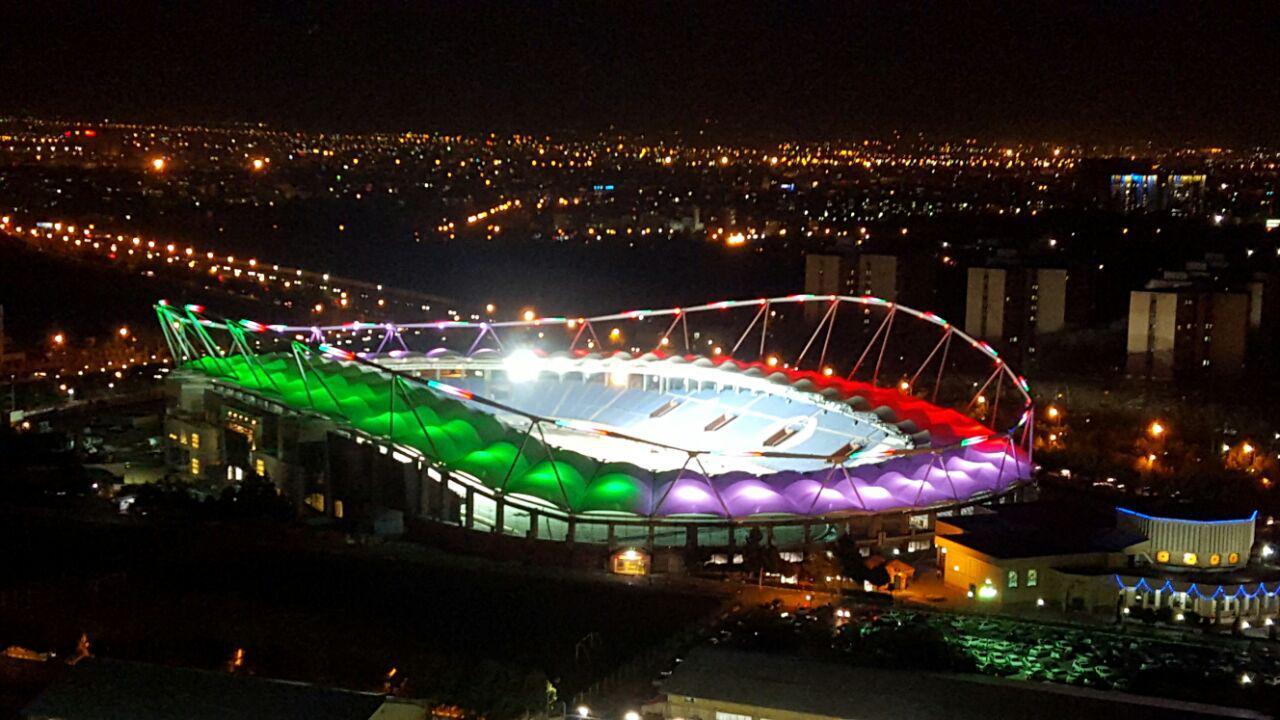 دیدار پایانی جام حذفی در استادیوم امام رضای مشهد