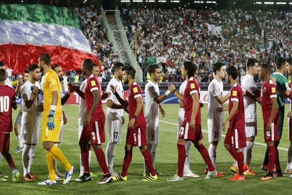 اولین بازی سامان قدوس برای ایران