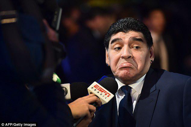 مارادونا دخترش را به زندان میاندازد؟