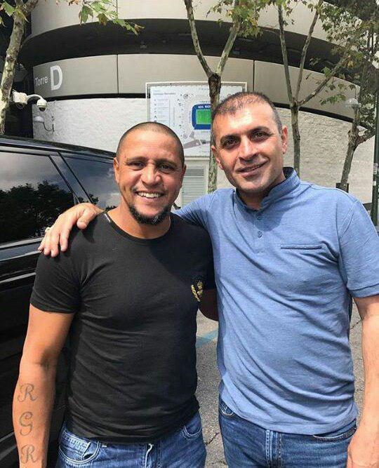 ملاقات ویسی و روبرتو کارلوس