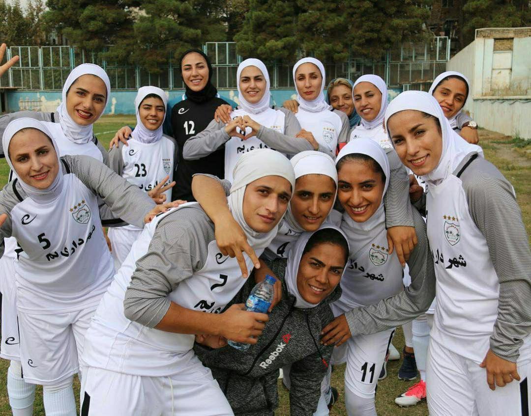 عکس| قهرمان لیگ برتر بانوان