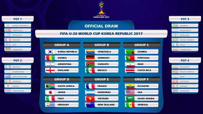 برنامه بازی های ایران در جام جهانی