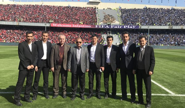 رضایت AFC از کمیته داوران ایران