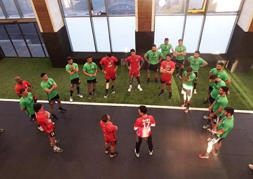 عکس| آخرین تمرین تیم ملی پیش از سفر به تونس