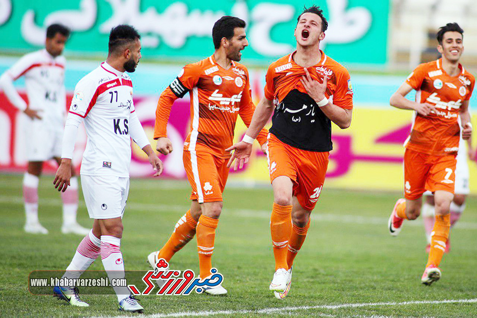گزارش تصویری| سایپا 2 -0 فولاد خوزستان