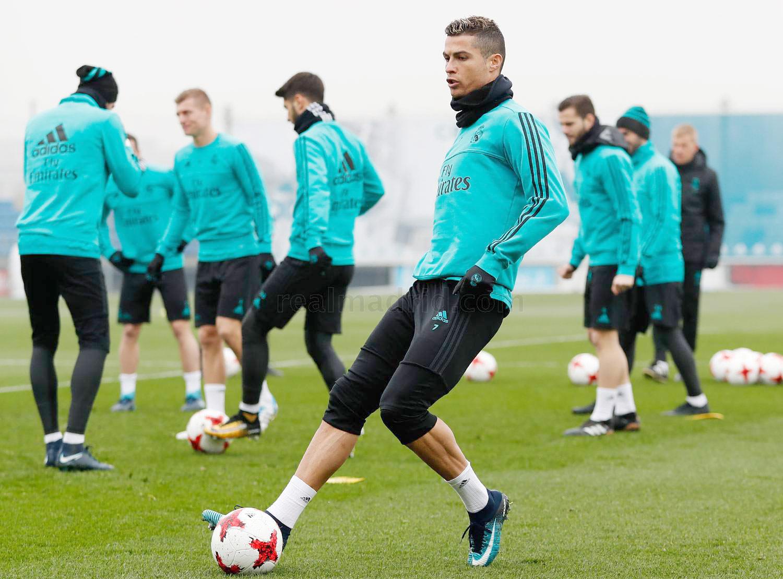 گزارش تصویری  تمرین رئال مادرید