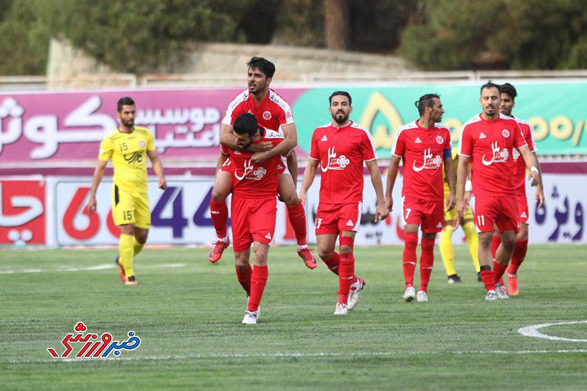 گزارش تصویری  نفت تهران 0 - 1 پدیده مشهد
