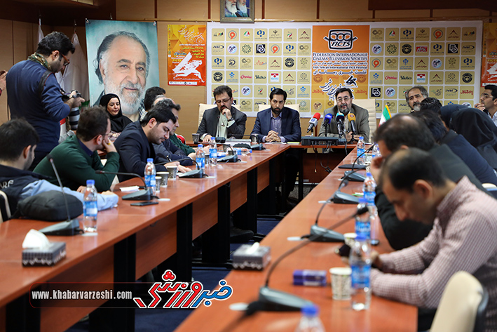 گزارش تصویری  نشست خبری یازدهمین دوره جشنواره فیلم های ورزشی
