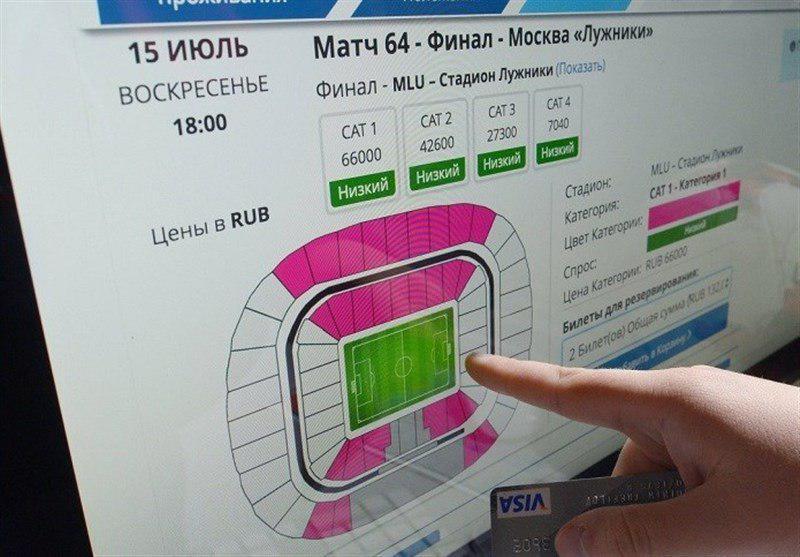 ارزیابی فیفا از فروش بلیتهای جام جهانی